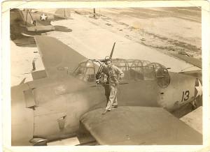 Darold Davis June 1943 VT-17
